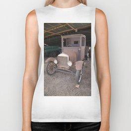 Ford car Antique Biker Tank