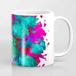 Neon Flowers Coffee Mug