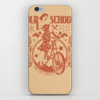 old school iPhone & iPod Skins featuring Old school by Tshirt-Factory