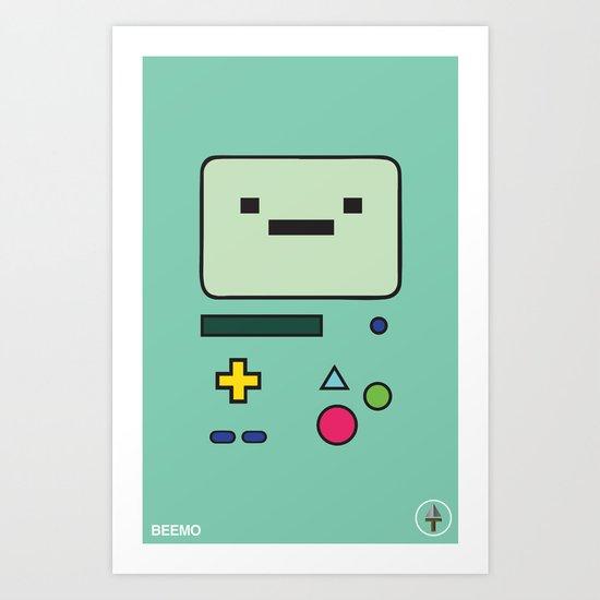 Beemo Art Print