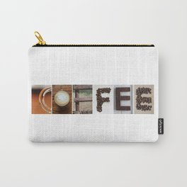 COFFEE Strong photo letter art typography Carry-All Pouch