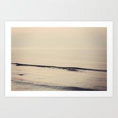 Ocean Ripples Art Print