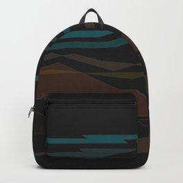 Southwest Desert Abstract Art Backpack
