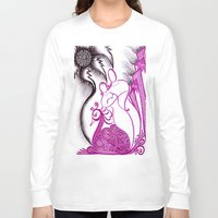 romance Long Sleeve T-shirts featuring Romance by Gina Miranda Art
