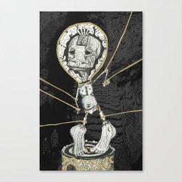 Puppets Canvas Print