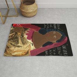 Black Culture Matters African Art Rug