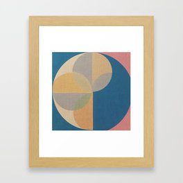 Jammed in Circles Framed Art Print