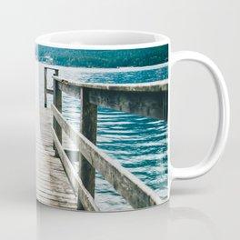 Jetty On Lake Coffee Mug