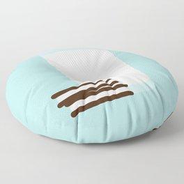 #25 Milk and Cookies Floor Pillow