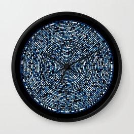 genome mosaic 8-1 Wall Clock