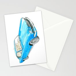 65 Mustang Fastback Stationery Cards