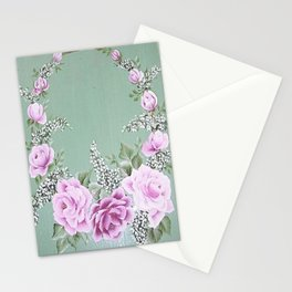Jade Rose Collection Stationery Cards