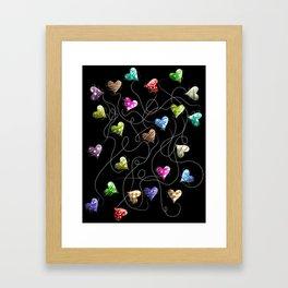 Heartstrings Framed Art Print