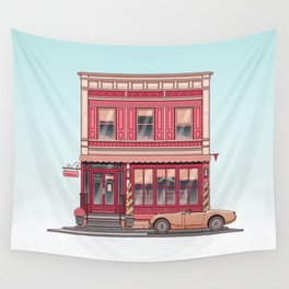 The Roving Gambler Wall Tapestry