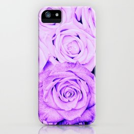 Some people grumble - Floral Ultra Violet Rose Roses Flowers iPhone Case