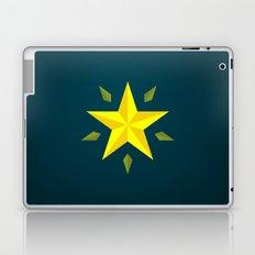 Gold Star/ Blue Laptop & iPad Skin