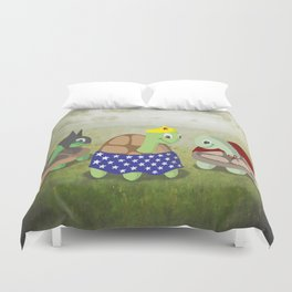 Turtle Cosplay Duvet Cover