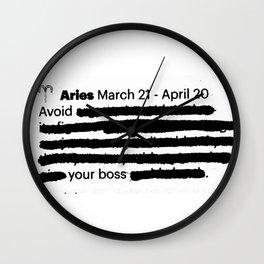 Aries 1 Wall Clock