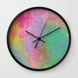 Crayon Corner Wall Clock