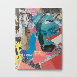 Berlin Posters-Waltz 22 Metal Print
