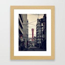 Kobe Cables Framed Art Print