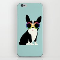 work hard iPhone & iPod Skins featuring Work Hard Play Harder by Andy Westface