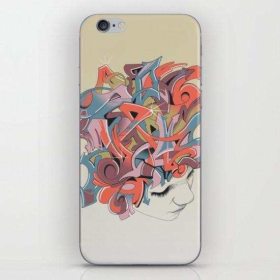 Graffiti Head iPhone & iPod Skin