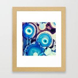 Evil Eye Tears Framed Art Print