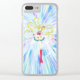 super sailor moon manga ver. Clear iPhone Case