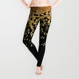 Gold Rain Leggings