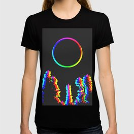 CMYK in RGB Moon in Forest T-shirt