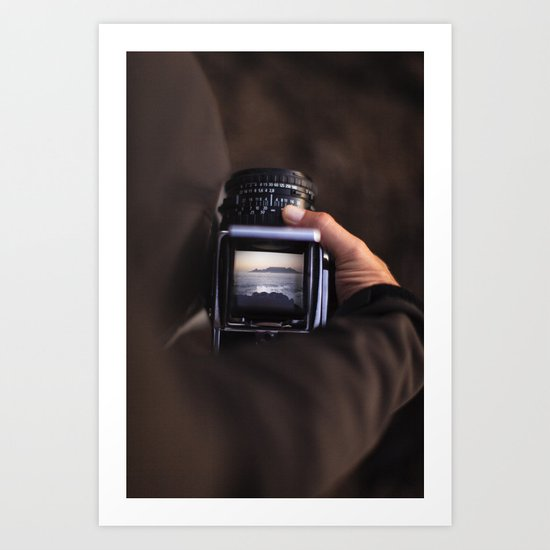 Medium Format Camera Dreams Art Print