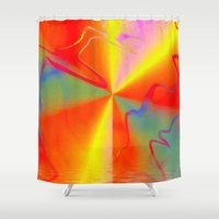 carnival Shower Curtains featuring Carnival by Awesome Palette