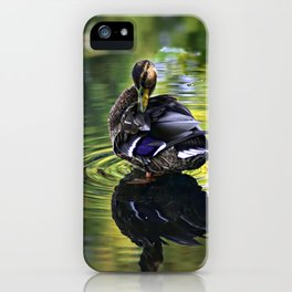 Reflective Duck iPhone Case