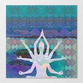 Goddess Geometric Tapestry Print Canvas Print
