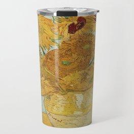 Vincent van Gogh's Sunflowers Travel Mug