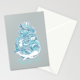 Plenty of Fish in the Sea Stationery Cards