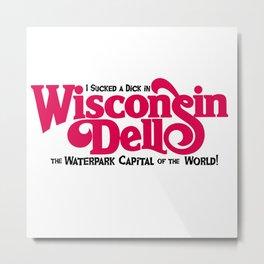Tourism Series:  Wisconsin Dells! Metal Print