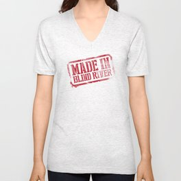Made in Blind River Unisex V-Neck