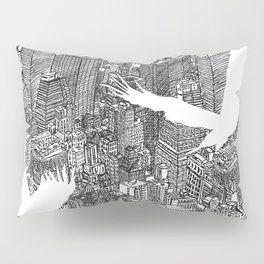 Ecotone (black & white) Pillow Sham