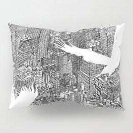 Ecotone (black & white) Pillow Sham
