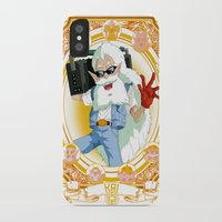 dragonball iPhone & iPod Cases featuring DragonBall Z - Kai House by Art of Mike