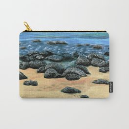 Poipu Beach Landscape Carry-All Pouch
