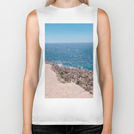 Heavenly Hike On Cap Ferrat Biker Tank