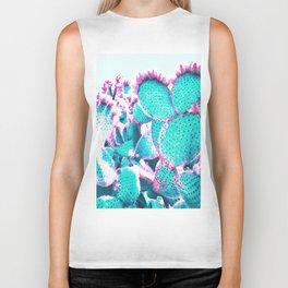Cactus - watercolor Biker Tank