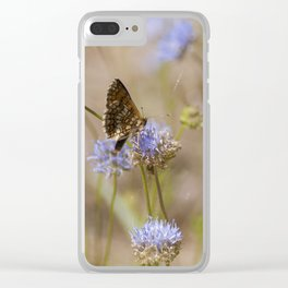 Euphydryas maturna Clear iPhone Case