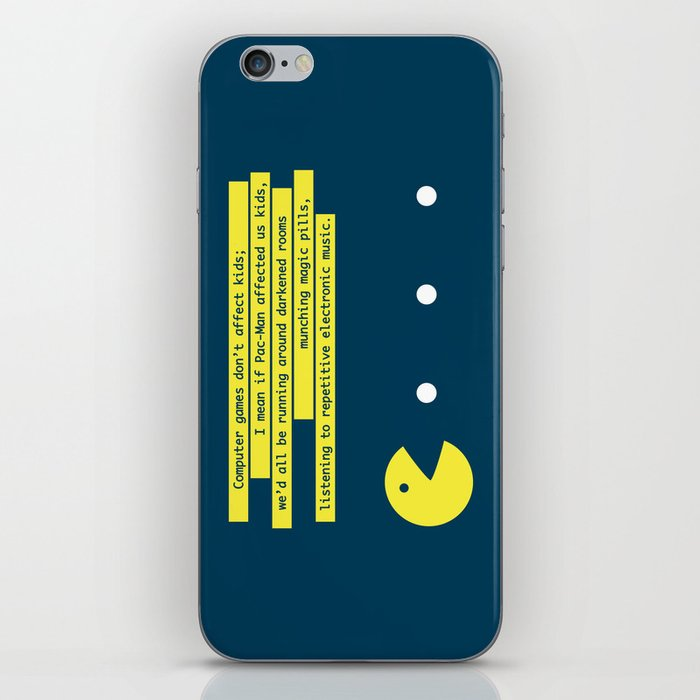 Computer Games Don't Affect Kids iPhone Skin
