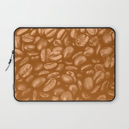 roasted coffee beans texture acrcb Laptop Sleeve