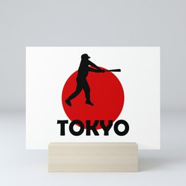 Tokyo and Baseball Mini Art Print