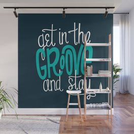 In the Groove Wall Mural